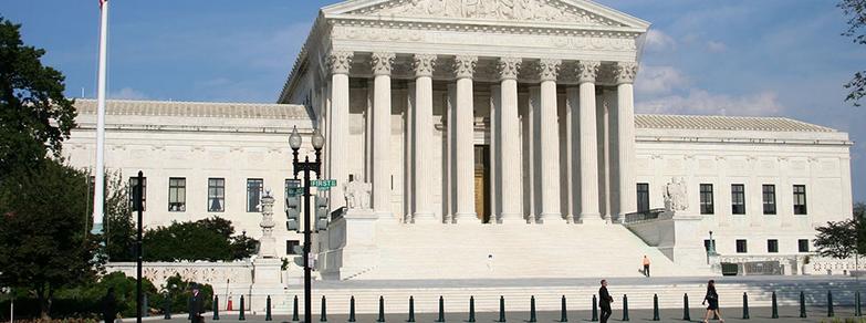 U.S. Supreme Court Front steps